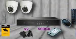 Kit 2 cámaras INT.
